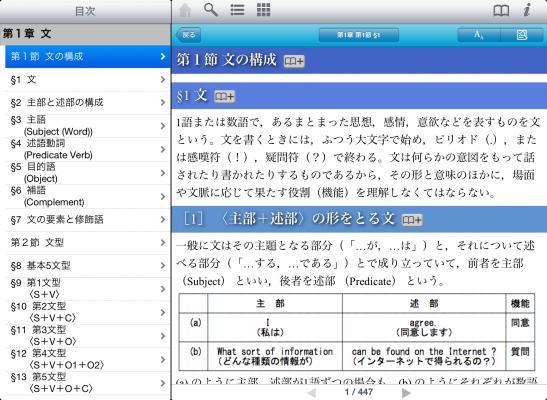 ロゴヴィスタ/英文法書アプリが...