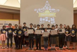 「アプリ甲子園 2015」決勝戦の集合写真