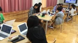 プログラミング授業風景