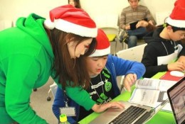 Tech Kids CAMP Christmasの様子
