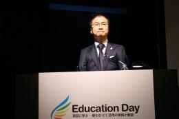 教育現場の変化を訴える 乙武氏