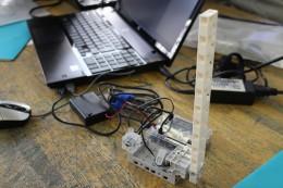 授業に使われたロボット