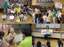 2014年度「親子向け英語体験合宿」の様子