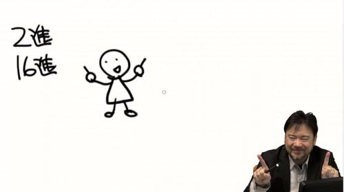 漫画家の江川 さんが数学の講義