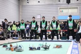 優勝した高松工芸高校のチームKOUGEI