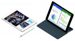 9.7インチ「iPad Pro」と別売りのApple Pencil、Smart Keyboard