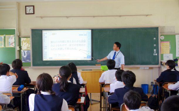 授業でのICT機器活用(江戸川区立小岩第二中学校 公開授業)