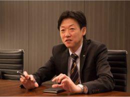 「東京都の本事業へのサポートを通して、全国の教育委員会や学校におけるICT教育環境整備推進のお手伝いをしていきます」と語る、NTT東日本 ビジネス&オフィス営業推進本部ビジネス営業部 第三ビジネス営業部門の田畑善基(たばたよしもと)部門長。