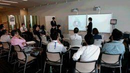 富士ゼロックスR&Dスクエア(横浜)にて開発部門に向けて発表