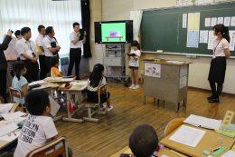 大和田小学校の授業風景