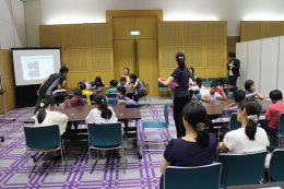 昨年7月の「子ども霞ヶ関見学デー」でのプログラミング教室