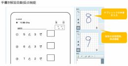 オンライン学習システム「Yoknal」手書き解答自動採点機能
