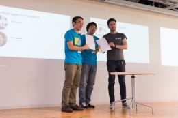 CoderDojo Foundation と CoderDojo Japan による調印式