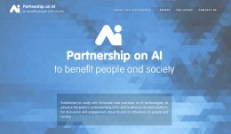 「Partnership on AI」のWebサイト