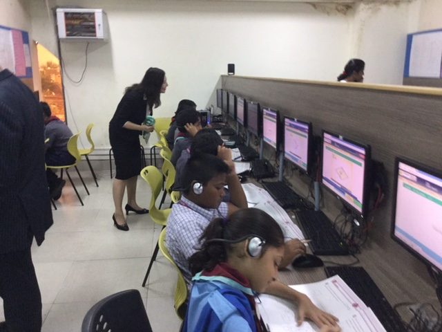 玉井式、ICT教材のパイロットプロジェクトをインドで実施