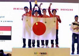 金メダルを受賞したチーム「YTHS Orange Ⅴ」