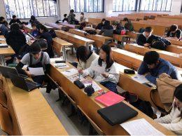 東北工業大学・力丸萠樹先生の教室