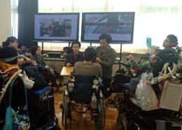 北海道八雲養護学校の様子