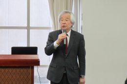 小坂部教務運営研究委員長