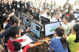 ラブパイ+マイクラを学ぶ教室で