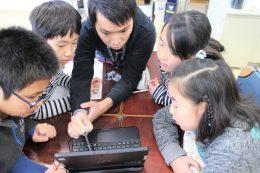 上野さんと子どもたち