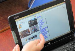 Scratchの制作画面
