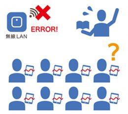 無線LANがつながらないイメージ