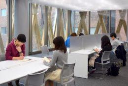 24時間利用可能な自習室