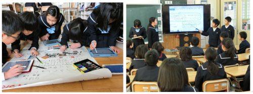 デジタルポスター作成       班ごとにデジタルポスター発表
