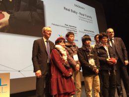 「ACM SIGGRAPH Award」受賞の様子