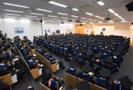 東京校卒業式の様子(日本語プログラム)