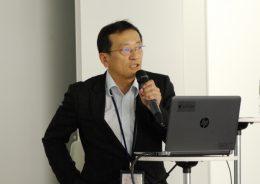 「教育の情報化の動向」を語る安彦氏