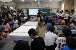 6年生の図画工作の授業
