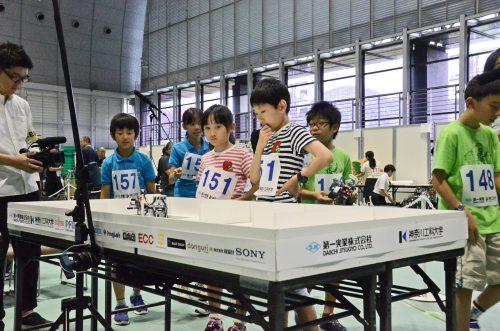 図3.WRO Japan決勝大会 競技様子