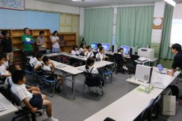 プログラミング体験授業