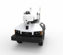 屋外自律走行監視ロボット<SV-S500>