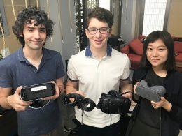 VR講師を務める海外理系大学生ら
