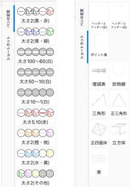 永島先生のツールボックス (「ペンの変更、「ショートカット」という名称は変更可」