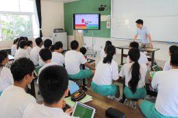 1人1台iPadでの授業風景