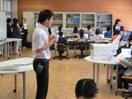 PC教室での授業風景