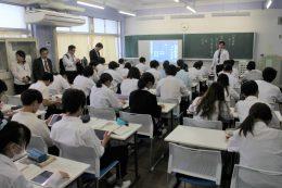 公開授業の様子