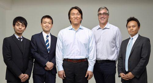 松井55ベースボールファウンデーション、STOPit(米国)、ストップイットジャパンの集合写真
