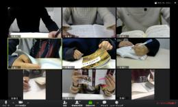 ネット自習室で勉強している様子のイメージ