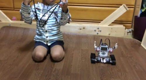 グランプリ作品「ものまねロボット作ってみた」