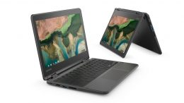 Lenovo 300e Chromebook コンバーチブル型2in1 11.6型 10点マルチタッチ USB3.0 USB-C HDMI MicroSD オーディオ端子 フロントカメラ バッテリー最大10時間駆動