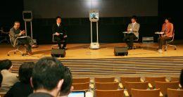 参考)2018年3月6日金沢工業大学で開催されたavatarを用いたSDGsビジネスシンポジウムの模様