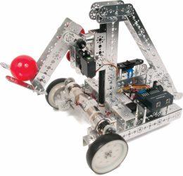 TETRIXを使用したロボットの例