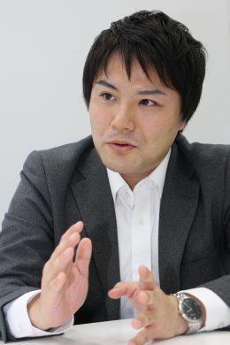 「英語アプリは既に導入した端末の活用にも有効」と語る金澤氏
