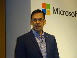 日本マイクロソフト 平野 代表取締役