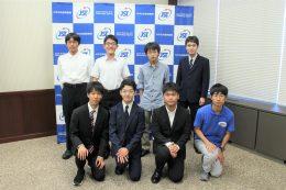 日本代表の生徒たち